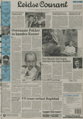 Leidse Courant 1992-07-24