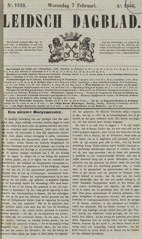 Leidsch Dagblad 1866-02-07