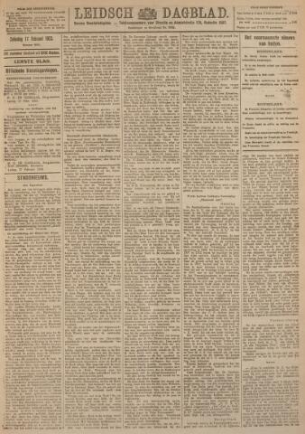 Leidsch Dagblad 1923-02-17