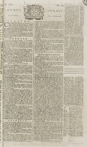 Leydse Courant 1817-11-05