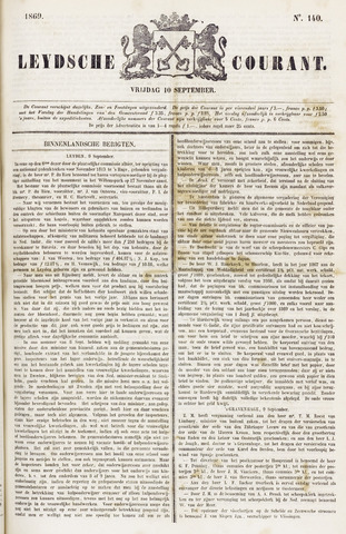 Leydse Courant 1869-09-10