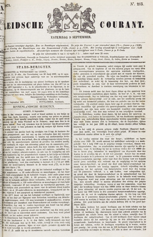 Leydse Courant 1871-09-09