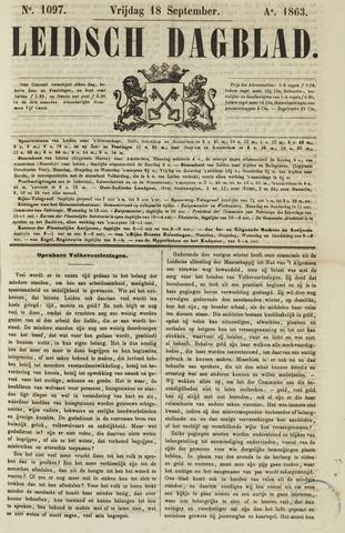 Leidsch Dagblad 1863-09-18