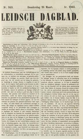 Leidsch Dagblad 1863-03-26