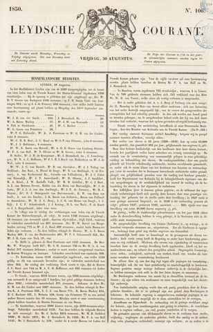 Leydse Courant 1850-08-30