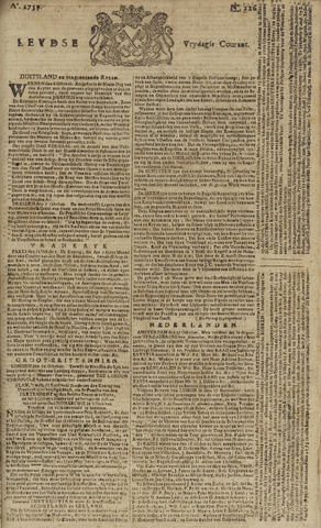 Leydse Courant 1759-10-19