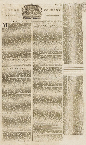 Leydse Courant 1814-12-23