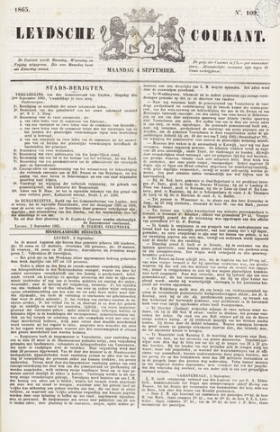 Leydse Courant 1865-09-04