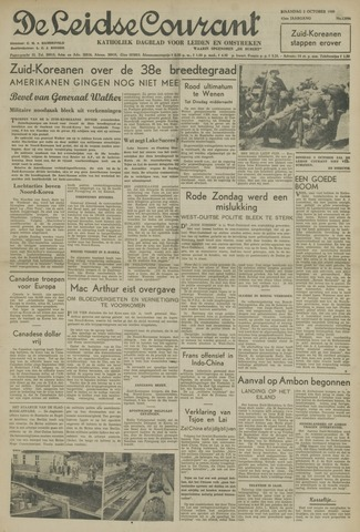 Leidse Courant 1950-10-02