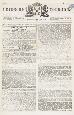Leydse Courant 1869-01-27