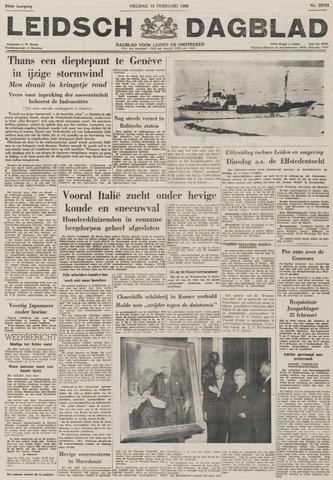 Leidsch Dagblad 1956-02-10