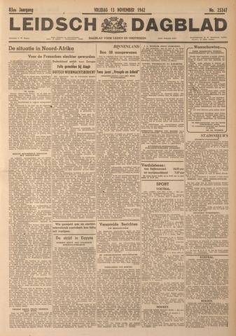 Leidsch Dagblad 1942-11-13