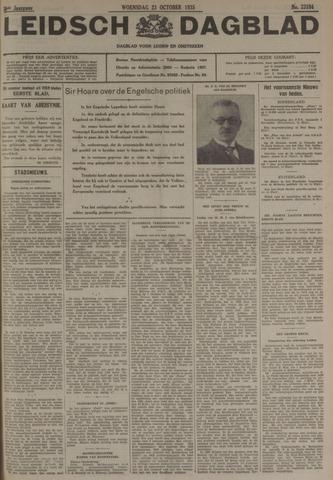 Leidsch Dagblad 1935-10-23
