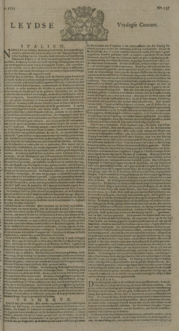 Leydse Courant 1725-11-09