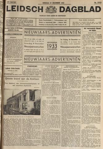 Leidsch Dagblad 1932-12-27
