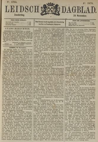 Leidsch Dagblad 1878-11-28