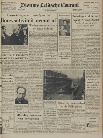 Nieuwe Leidsche Courant 1957-11-13