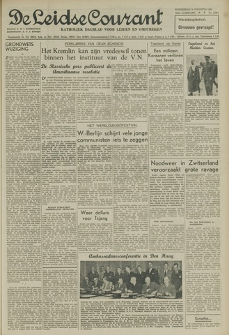 Leidse Courant 1951-08-09