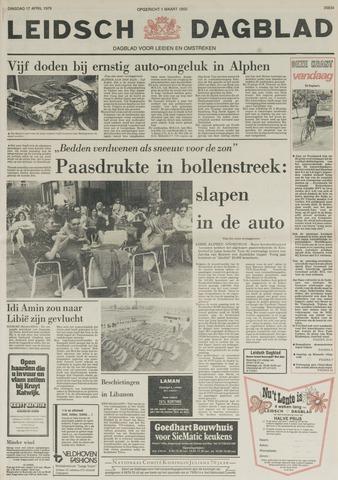 Leidsch Dagblad 1979-04-17