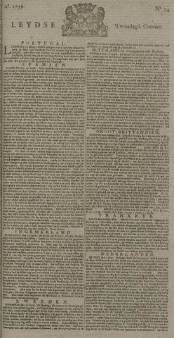 Leydse Courant 1739-05-06