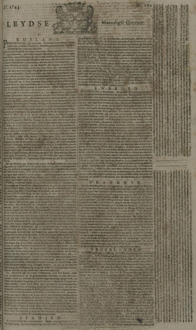 Leydse Courant 1743-10-07