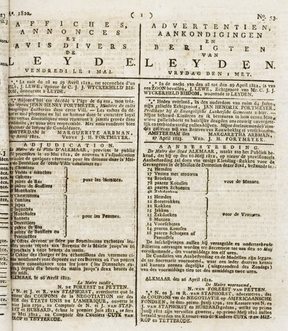 Leydse Courant 1812-05-01