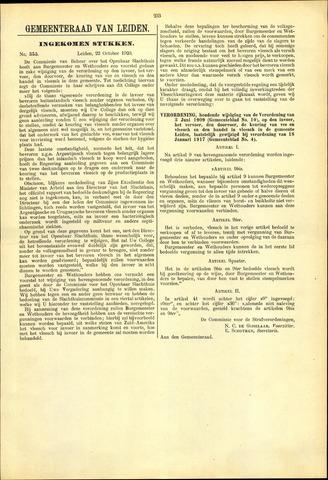 Handelingen van de Raad 1920-10-22