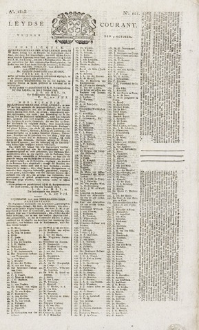 Leydse Courant 1818-10-09