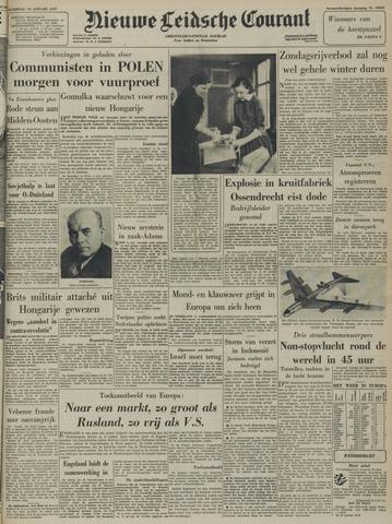 Nieuwe Leidsche Courant 1957-01-19