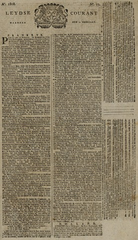 Leydse Courant 1808-02-22