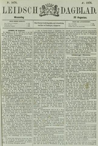 Leidsch Dagblad 1876-08-30
