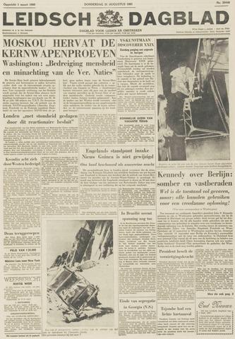 Leidsch Dagblad 1961-08-31