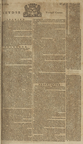 Leydse Courant 1754-08-16