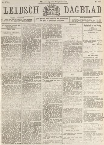 Leidsch Dagblad 1915-09-20