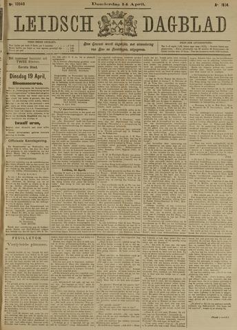 Leidsch Dagblad 1904-04-14
