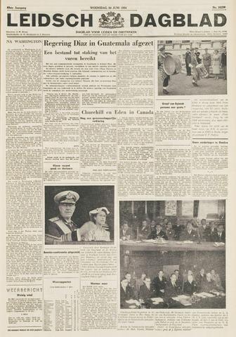 Leidsch Dagblad 1954-06-30