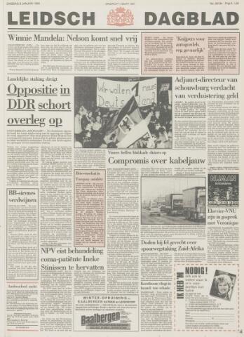 Leidsch Dagblad 1990-01-09