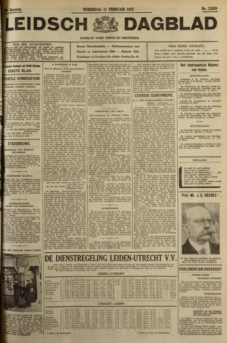 Leidsch Dagblad 1932-02-17