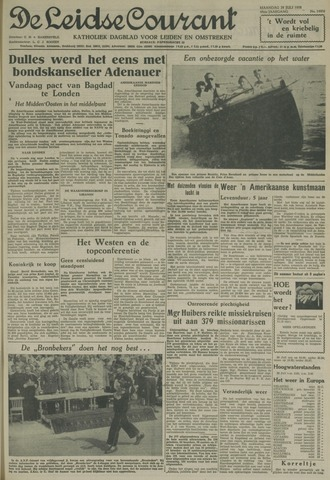 Leidse Courant 1958-07-28