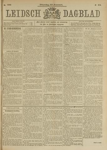 Leidsch Dagblad 1904-01-12