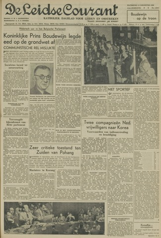 Leidse Courant 1950-08-12