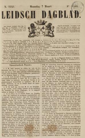 Leidsch Dagblad 1864-03-07