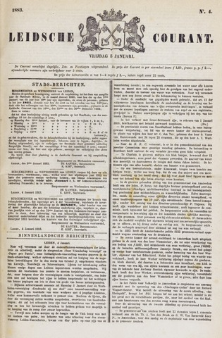 Leydse Courant 1883-01-05
