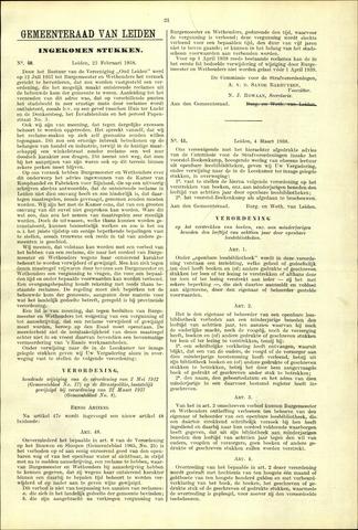 Handelingen van de Raad 1938-02-23