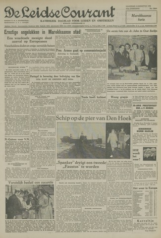 Leidse Courant 1954-08-09