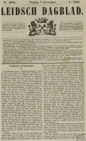 Leidsch Dagblad 1866-12-07