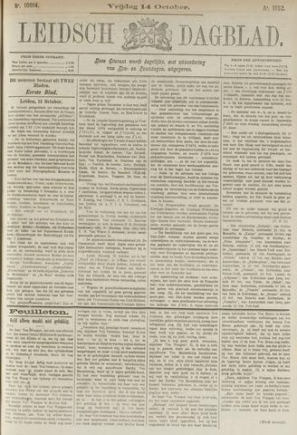 Leidsch Dagblad 1892-10-14