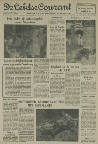 Leidse Courant 1961-10-11