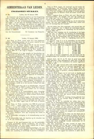 Handelingen van de Raad 1900-01-18