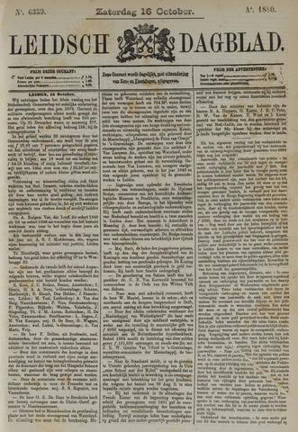 Leidsch Dagblad 1880-10-16